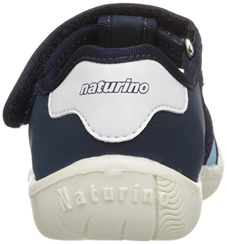 Naturino 7785 SS16 F Fisherman Sandal (Toddler/Little Kid), Bleu/Jeans/Celeste, 28 EU(11 M US Little Kid)