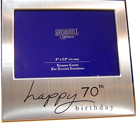 5quot X 3quot Happy 70th Birthday Photo Frame Occasion Gift