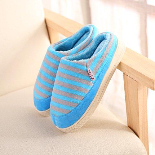 2015 Nuove Pantofole Blubi Da Donna A Casa Pantofole Da Camera Calde Blu