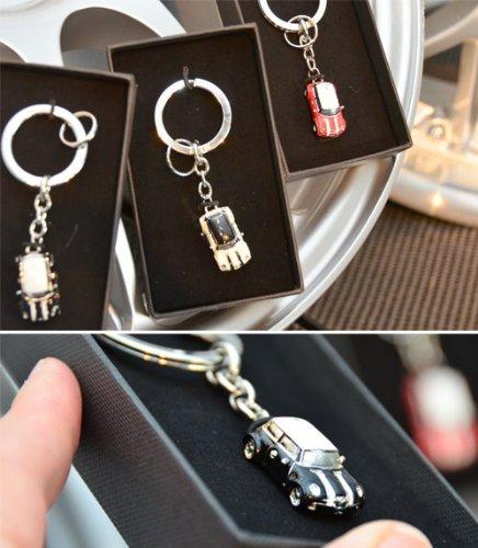 Amazon Com Mini Car Key Ring Pepper White Sports Outdoors