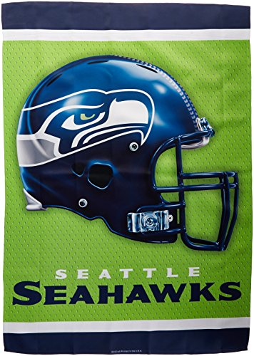 Wincraft NFL Seattle Seahawks 2 Sided Vertical Flag, 28 x 40