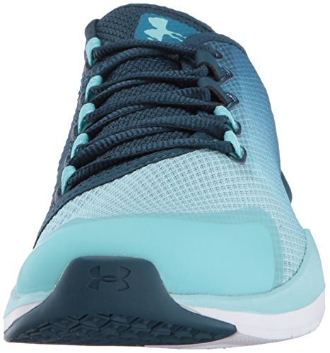 Under metallic Bayou Blue De Entrenamiento Zapatillas Silver blue Ss17 Women's Armour Charged Push Infinity fU6fpr