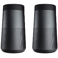Bose 2x SoundLink Revolve Bluetooth Speaker, Triple Black
