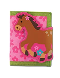 Stephen Joseph Girl Horse Wallet, 1-Pack