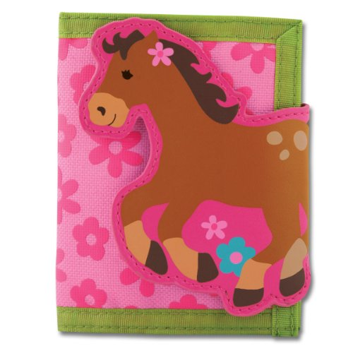 Stephen Joseph Wallet,Girl (Best Stephan Baby The First Years Gift For One Year Old Girls)