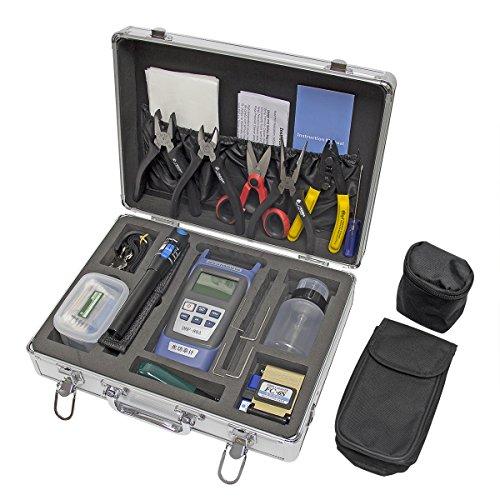 - Signstek FTTH Fiber Optic Tool Kit for Optical Project, Telecom Maintenance, CCTV Maintenance
