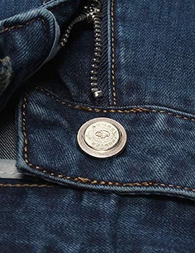 Pantaloni Taglio Casual Alimentazione Jeans 802 Serie Dritti Cashmere In Moderna Blau Vintage Moda Di 6xqH6B4w
