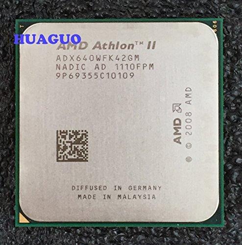 AMD Athlon II X4 640 3.0GHz Quad-Core Desktop CPU Processor ADX640WFK42GM Socket AM3 2MB 95W by AMD (Image #1)
