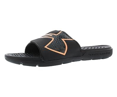 99c707b81d Under Armour Women's UA W Strike Rock SL Shower & Bath Shoes Black ...
