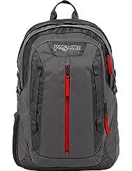 JanSport Tilden Laptop Backpack (Forge Grey / Red Tape)