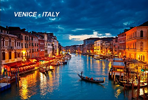 Italian Fridge Refrigerator Magnets Venice B3 product image