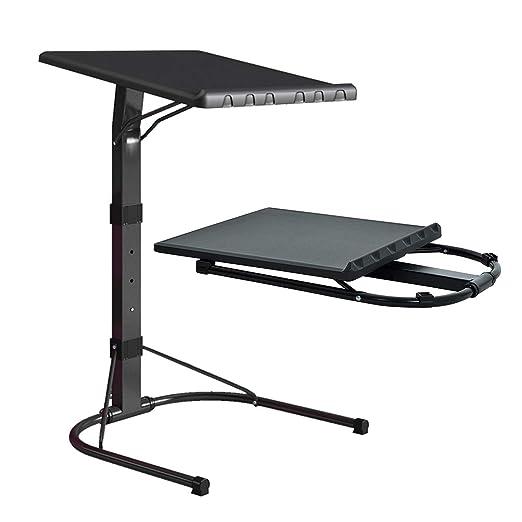 CBHLZ Mesa Plegable para computadora portátil Negra con Altura y ...