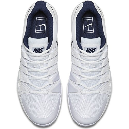 NIKE Zoom Vapor 9.5 Tour Shoes White Blue Fall 2017-40