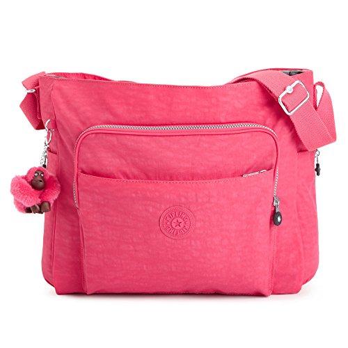Kipling Kyler Baby Bag (One Size, Vibrant Pink)