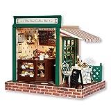 DIY Miniature Dollhouse Kit Handmade Wooden Dolls House & Furniture Kit with LED Light Music Box