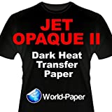 INKJET TRANSFER PAPER FOR DARK FABRIC: NEENAH ''JET OPAQUE II'' (8.5''X11'') 100Pk :)