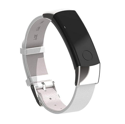 Malloom Mijoas Cuero Elegante Pulsera Reloj Correa de Pulsera llevada a Mano de Cuero para Huawei