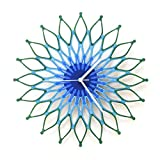 Peacock - Large Stylish Wooden Wall Clock, Sunburst Clock, a Piece of Wall Art