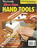 WOODSMITH MAGAZINE, SPRING 2018, MUST-HAVE HAND TOOLS