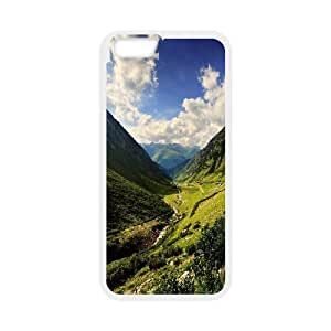 Mountain Valley IPhone 6 Plus Cases, Iphone 6plus Case Cute Fashionable Okaycosama - White