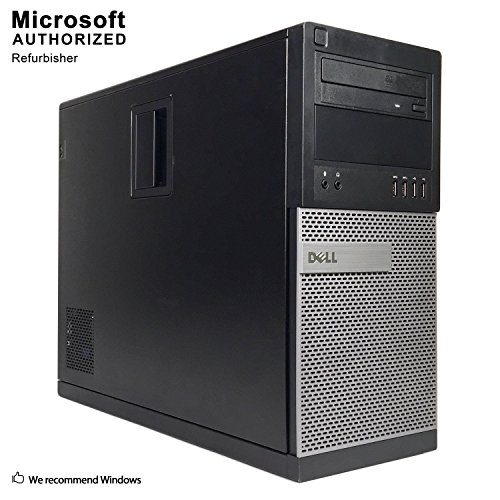 Dell OptiPlex 7010 Minitower Desktop PC 8GB 1TB DVD Windows 10 Professional (Certified Refurbishedd)