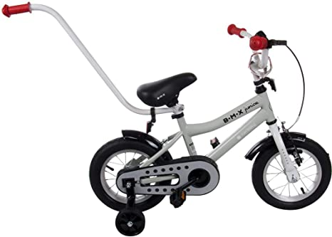 Bicicleta Infantil Niño Chico BMX Junior 12 Pulgadas con Freno ...