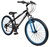 New Boys/Childrens Black Muddyfox Sniper Mountain Bikes - Black -
