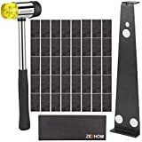 ZEXHOM Professional Laminate Wood Flooring Installation Kit with 40 Spacers, Upgraded Tapping Block, Widen Pull Bar and Heavy