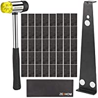 ZEXHOM Professional Laminate Wood Flooring Installation Kit with 40 Spacers, Upgraded Tapping Block, Widen Pull Bar and…