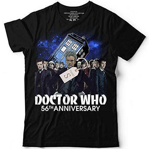 Doctor TV Shirt Who 56th Anniversary Thank You For Memories Customized Handmade T-Shirt Hoodie/Long Sleeve/Tank Top/Sweatshirt (Time And Relative Dimension In Space T Shirt)