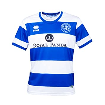 61f4c05e1 Errea Queens Park Rangers FC Men s Home Football Shirt 2017-2018 (UK Large (