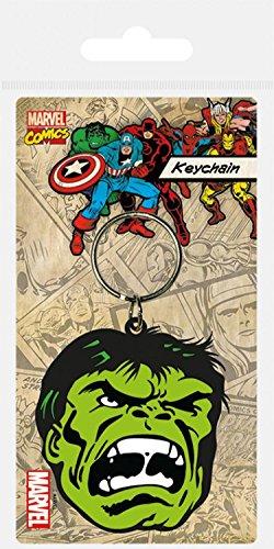 1art1® El Increíble Hulk - Face Llavero (6 x 4cm): Amazon.es ...