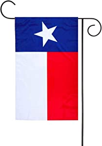FLAGLINK Texas State Garden Flag - 12 x 18 inch Premium Garden Flag - Double Sided Texan Garden Flag