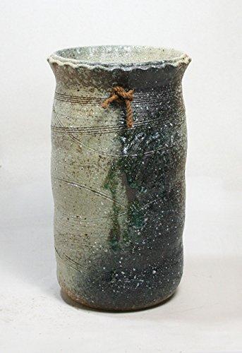 緑釉掛傘立 信楽焼 陶器 傘立て B01MRU9X7N