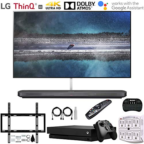 "LG OLED77W9PUA 77"" W9 Signature OLED 4K HDR Smart TV w