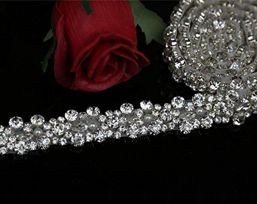 Crystal rhinestone Rhinestone Applique Wedding