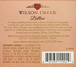 Wilson Creek Peach Bellini NV 750ml
