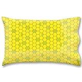Honeycombs Prison Standard Pillow Case Waterproof Luxurious Bathroom Design Woven Fabric
