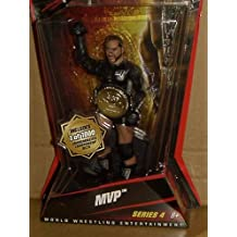 WWE - MVP - 1 OF 1000 COMMEMORATIVE CHAMPIONSHIP GOLD CHASE BELT FIGURE by WWE