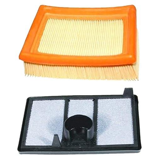Accesorios de cortacésped, filtro de aire, 1 juego, filtro de aire ...