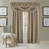 Best Home Back Tab Curtains - Elrene Home Fashions 20861ELR Antonia Blackout Rod Pocket/Back Review