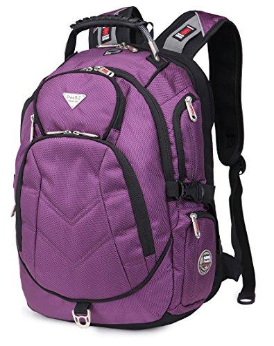Travel Outdoor Computer Backpack Laptop bag 19''(black) - 6