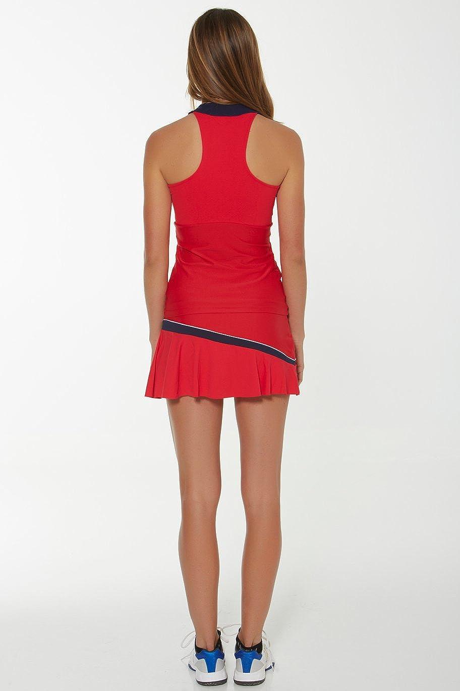 Naffta Tenis Padel - Falda-Short para Mujer, Color Rojo ...