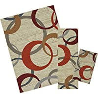 Mohawk Home Soho Picturale Rainbow Geometric Printed Area Rug Set, Set Contains: 16x26, 18x5 and 5x7