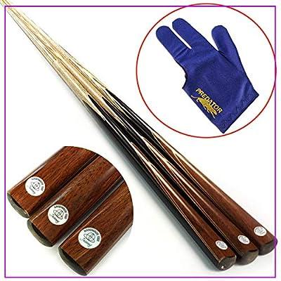 banxia 1/2 Split Ash Wood 9.5 Mm Head Snooker Cue Pool Cues Marrón 9.5mm: Amazon.es: Deportes y aire libre