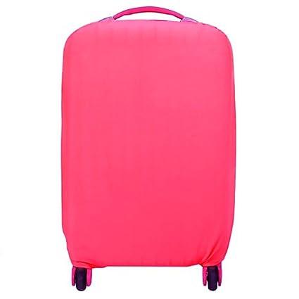 VANKER Funda para maletas de viaje de viaje Funda para maletas elásticas de protección (Rosa