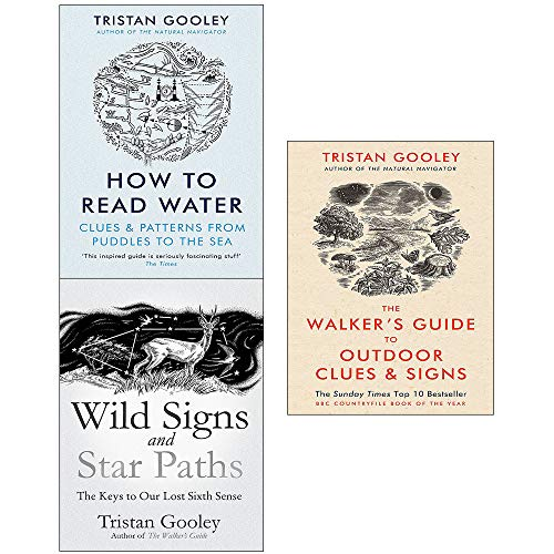 (How to read water, walker's guide to outdoor clues and signs and wild signs and star paths[hardcover] 3 books collection set)