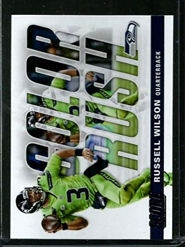 Galleon - 2017 Score Color Rush  16 Russell Wilson NM-MT Seahawks a656dac7d