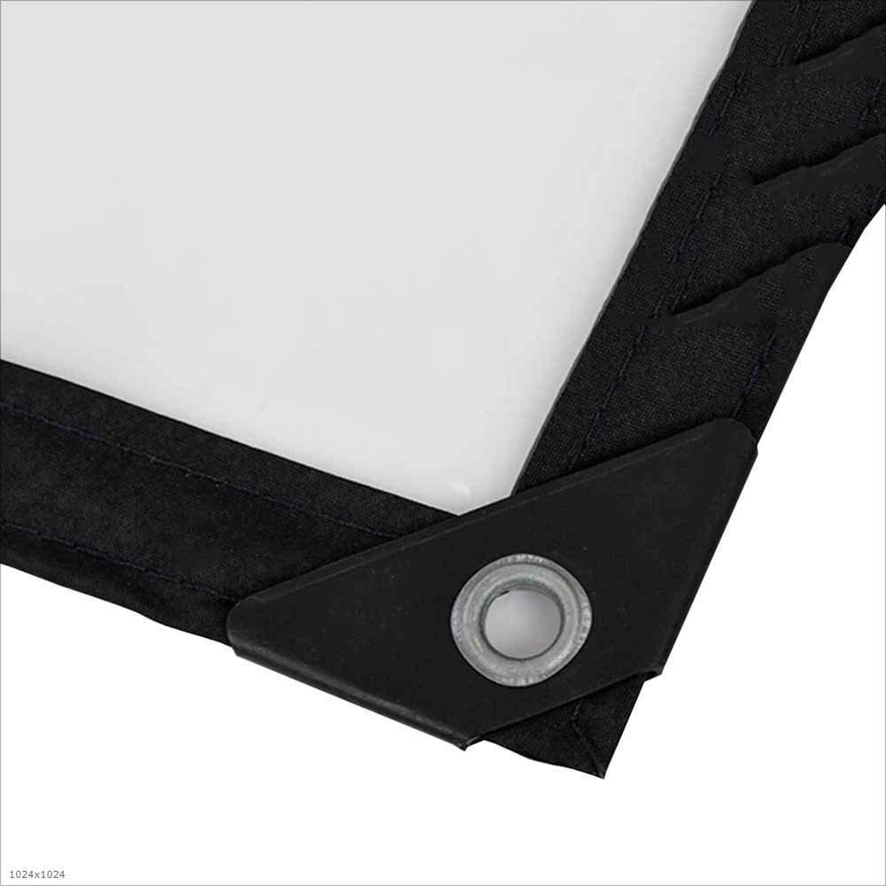 2m×10m XRFHZT Camping Waterproof Tarpaulin, Floor Covering Thick Transparent PVC Tarpaulin, Truck Tarpaulin, Sunscreen Rain Cover, Tarpaulin, Farm Cover Cloth,2M×10M