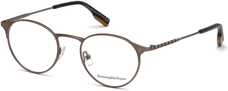 b0cfe0ee1d Amazon.com  Eyeglasses Ermenegildo Zegna EZ 5123 038 bronze other  Clothing